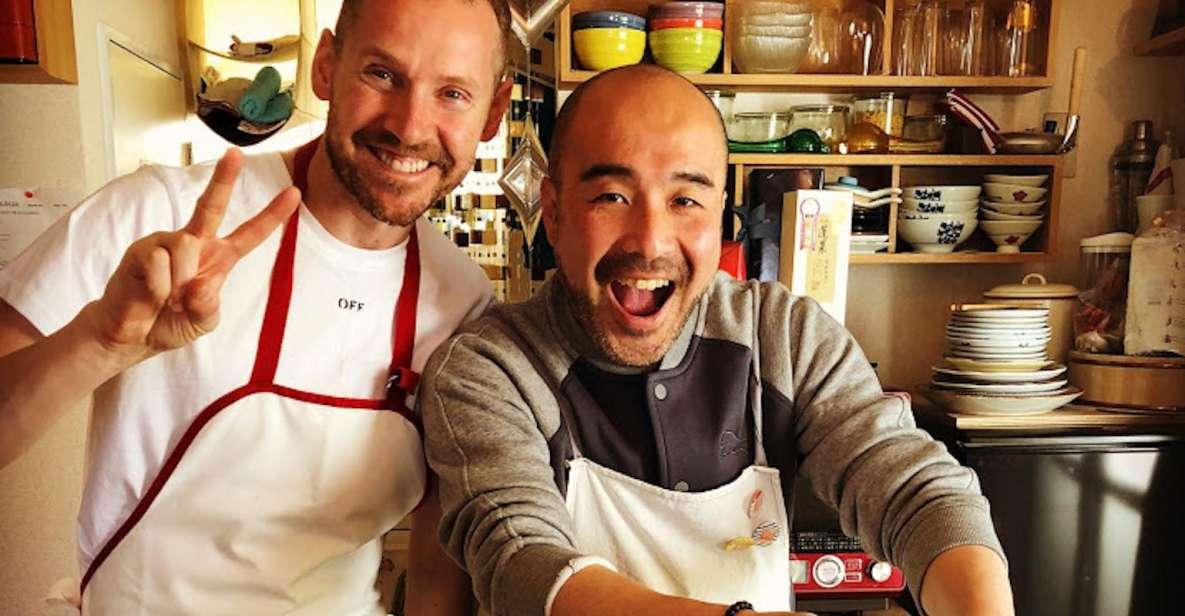 Tokio: clase de cocina japonesa privada con un chef local