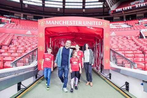 Tour por el museo y el estadio del Manchester United