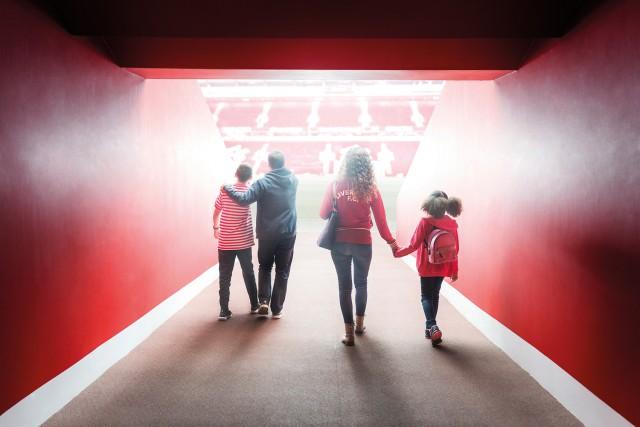 Liverpool Football Club: museum & stadiontour