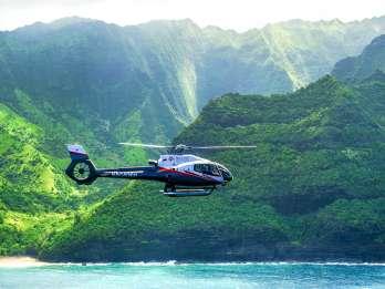Kauai: Flug vom Waimea Canyon zur Na Pali Coast