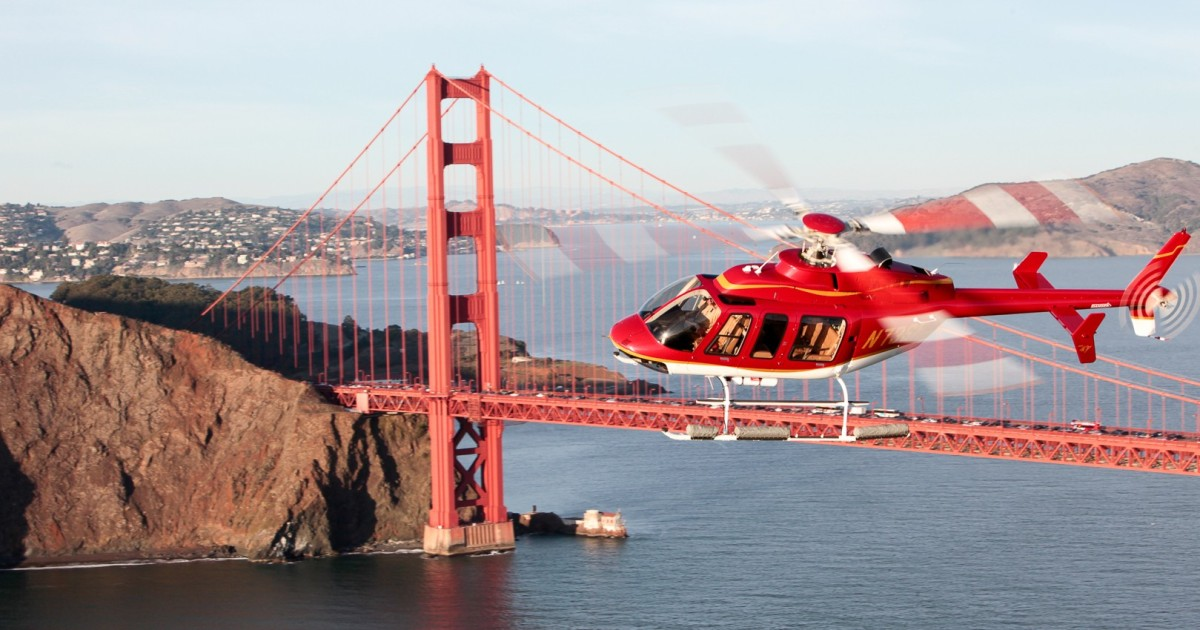San Francisco Vista Helicopter Tour (15-20 minute tour)