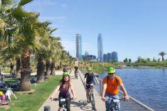 Santiago: Tour Panorâmico ou Cultural de Bicicleta