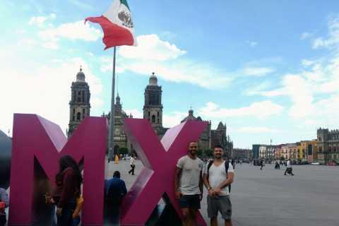 Recorrido histórico a pie por la ciudad de México
