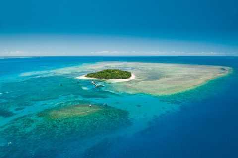 Cairns: Riff-Rundflug & Bootstour nach Green Island