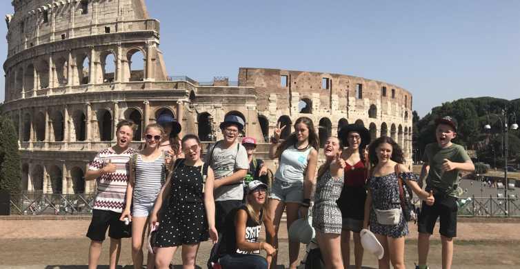 Roma: Coliseo y Foro Romano Tour en grupos pequeños