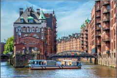 Talento Marítimo: Excursão 2 Horas Porto de Hamburgo