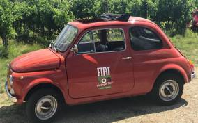 500 Vintage Tour and Chianti Roads from Siena