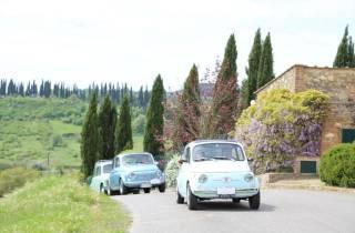 Landschaften von Chianti: Tagestour im Fiat 500