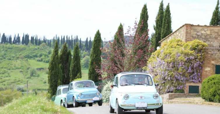 Regione del Chianti: tour di 1 giorno in Fiat 500 d'epoca