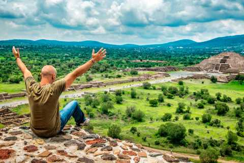 Van Mexico-Stad: Teotihuacan Small-Group Dawn Tour