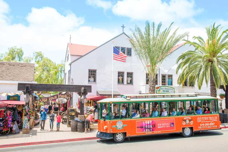 Old Town San Diego Hop On Hop Off Narrated Tour San Diego United States Getyourguide