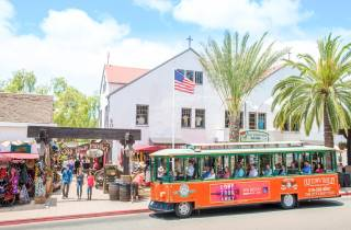 Altstadt von San Diego: Hop-On/Hop-Off-Tour mit Kommentar