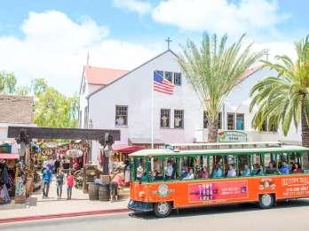 San Diego: Hop-On/Hop-Off-Tour in der Altstadt mit Kommentar