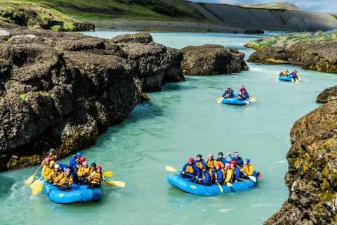 Hvita River: River Rafting Adventure