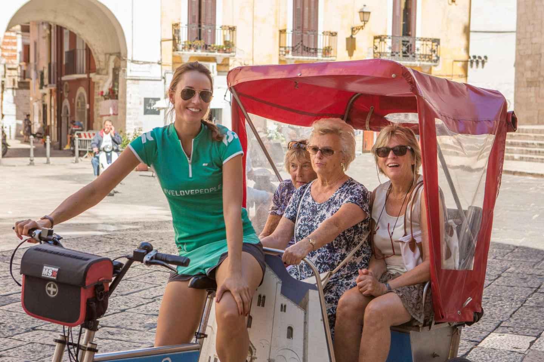 Bari: Street-Food-Tour per Rikscha