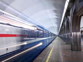St. Petersburg: Tour zu den U-Bahnstationen