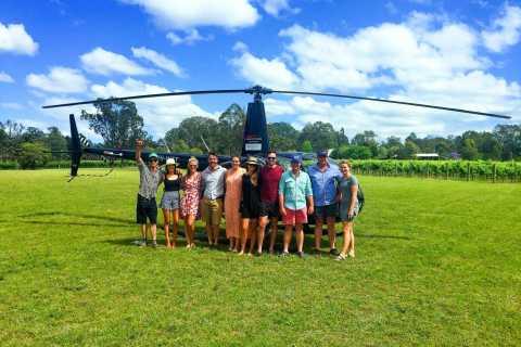 Hunter Valley and Broken Back Range Helicopter Flight