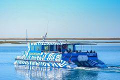 Faro: Cruzeiro de Balsa até a Ilha Deserta
