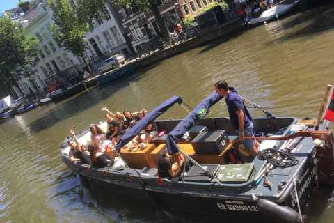 Amsterdam: Sloop Boat Private Cruise