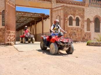 Hurghada: Quad-Safari - Tagestour zum Sahara-Park