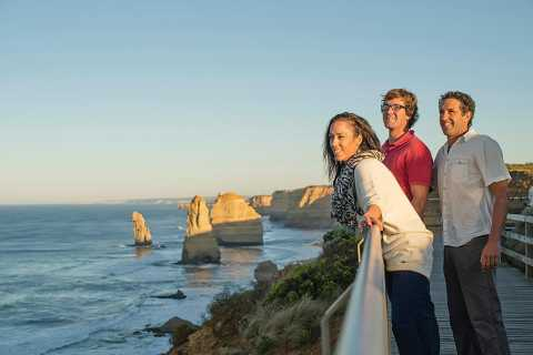 Ab Melbourne: Great Ocean Road und 12 Apostel-Tour
