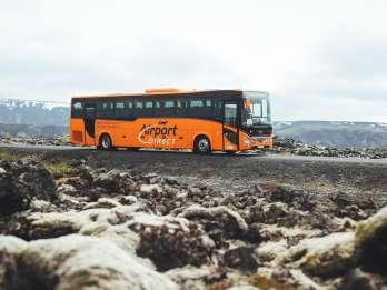 Keflavik Flughafen & Reykjavik Hotels: Bustransfers