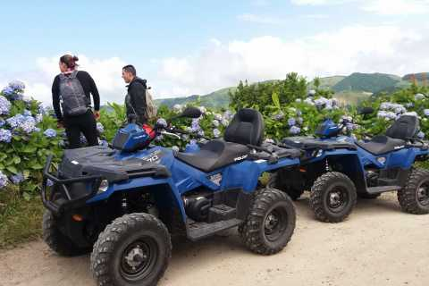 From Ponta Delgada: Full-Day Sete Cidades Quad Tour
