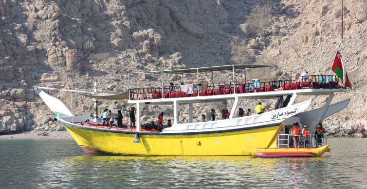 Dubai: Ganztägige Meeressafari nach Musandam