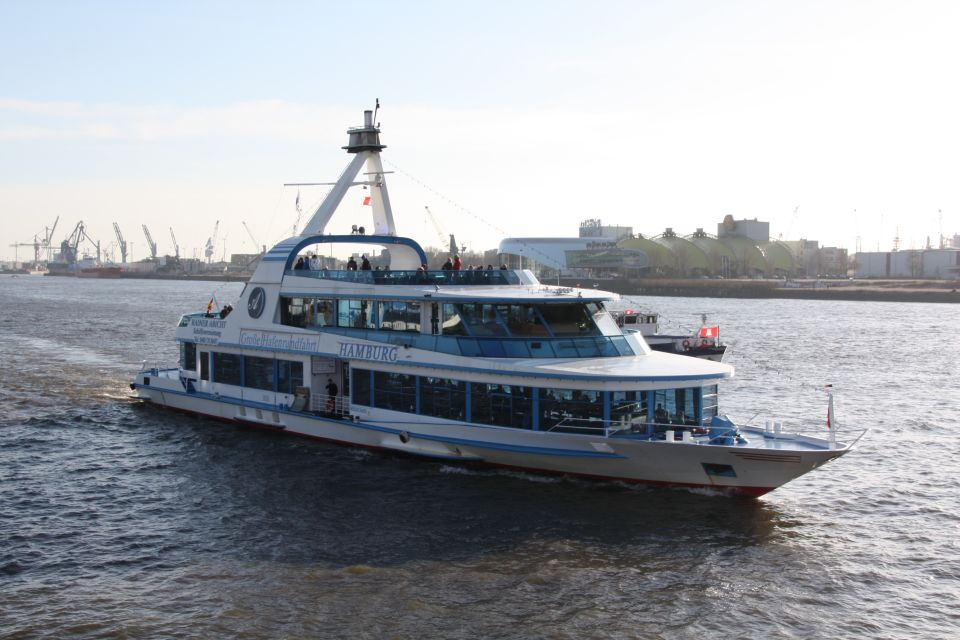 Hamburg: Große Hafenrundfahrt