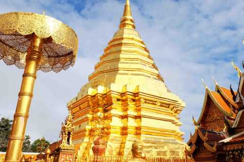 Chiang Mai Top Temples & Handicraft Center Private Day Tour