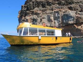 Ab Puerto de Mogán: Boot- und Schnorcheltrip