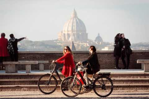 Rome: Half-Day Panoramic Tour by Electric-Assist Bicycle