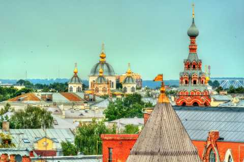 Yaroslavl City Tour with a Private Guide