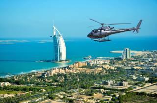 Dubai 12-minütiger Helikopterflug über der Stadt