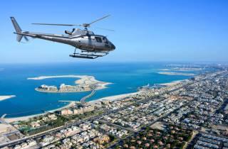 Dubai: 22-minütiger Hubschrauberflug