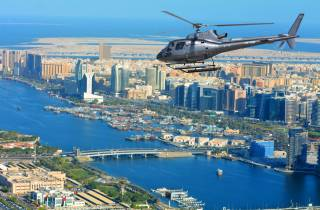 Dubai: Helikopterflug über The Palm Jumeirah