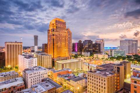 New Orleans Luxury Bus Tour