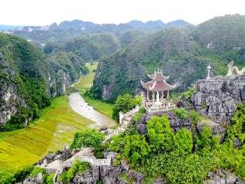 Ab Hanoi: Bai Dinh, Trang An & Mua-Höhle Tagestour