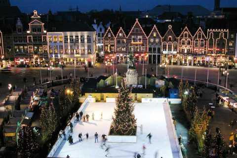 Depuis Londres: marchés de Noël de Bruges