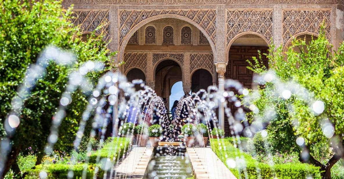 Granada: Biljett till Alhambra och Generalife med audioguide