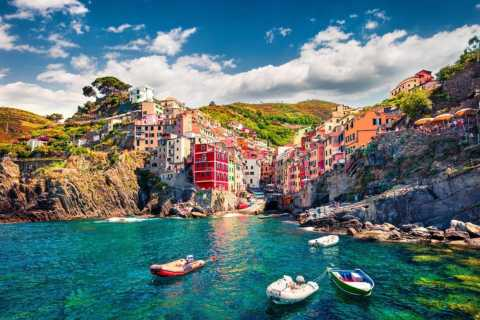From Florence: Cinque Terre Scent of the Sea Guided Tour