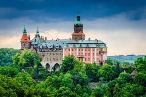 From Wroclaw: Ksiaz Castle Private Transfer