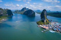 Baía de Phang Nga: Passeio Matinal James Bond e Muito Mais