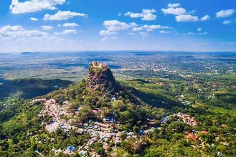 Ab Bagan: Privat-Ausflug zum Mount Popa und nach Salay