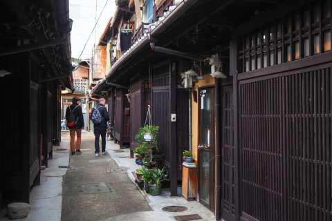 Kyoto: tour storico di Sake, tè verde e Wagashi