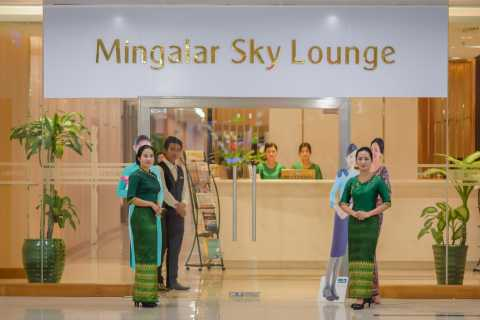 Yangon International Airport Sky Lounge