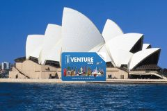Sydney 3 ou 7 Day iVenture Atrações ilimitados Passe