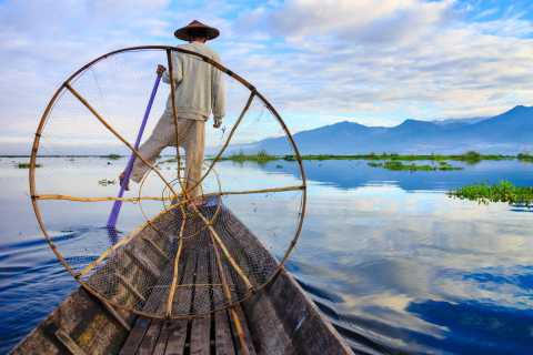Inle See: Privater Tagesausflug per Boot & Indein