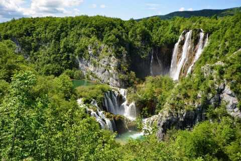 Zagreb à Split: transfert privé avec les lacs de Plitvice