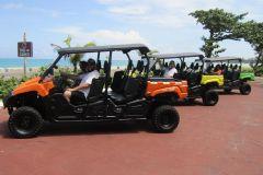 Nassau: passeio de buggy e passeio pela praia com almoço